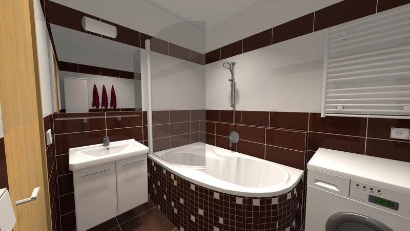 I na malém prostoru můžete vytvořit velké věci. Proměna této panelákové koupelny je toho důkazem.