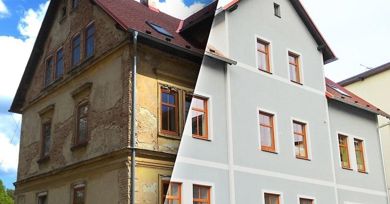 Světlou, nebo tmavou? A jaká pasuje k červené střeše? Výběr fasádní barvy je stěžejní část stavby i rekonstrukce a my vám s ním pomůžeme.